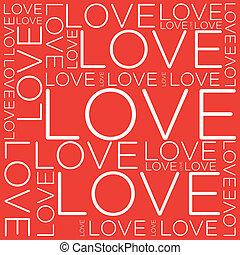 コラージュ, 愛, 単語