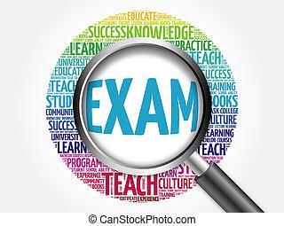 コラージュ, 教育, 単語, 試験