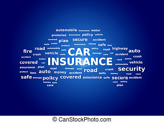 コラージュ, 自動車保険