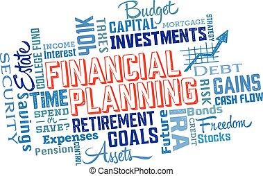 コラージュ, 財政計画, 単語