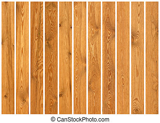 コレクション, の, 木, 板, 手ざわり
