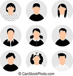 コレクション, 十代の若者たち, avatars
