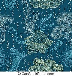 コレクション, 海洋, 植物