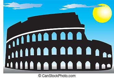 コロシアム, ローマ