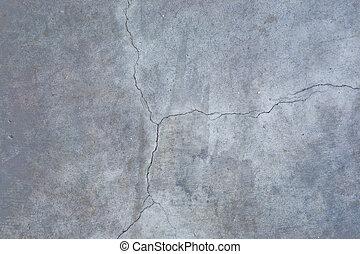 コンクリートの床