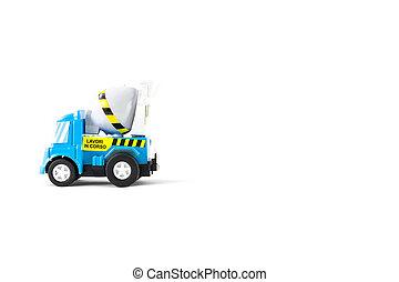 コンクリート, トラック, ミキサー, おもちゃ