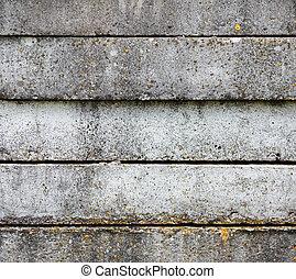 コンクリート, 古い, 厚板