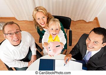 コンサルタント, -, 金融, 家族, 保険