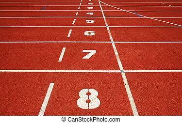 コンテスト, 運動, 練習, 競争, カーブ, 空, 競いなさい