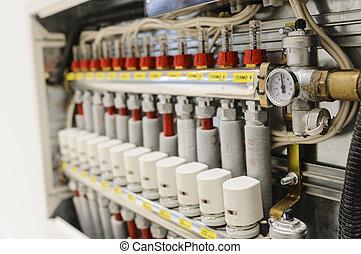 コンディション調整, 空気, システム, 中心にされる, 加熱