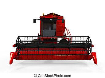 コンバイン, 隔離された, 収穫機