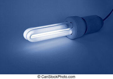 コンパクト, 蛍光 ライト