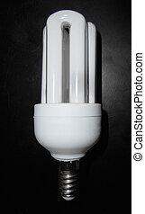 コンパクト, 電球, ライト, 蛍光