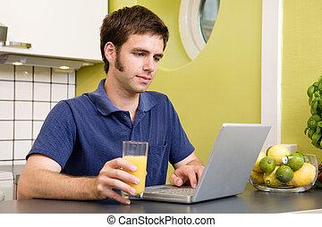 コンピュータを使って, ジュース