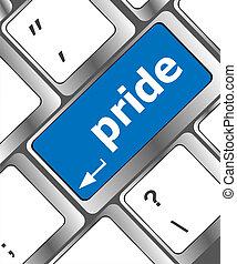 コンピュータキーボード, キー, ∥で∥, 誇り, 単語