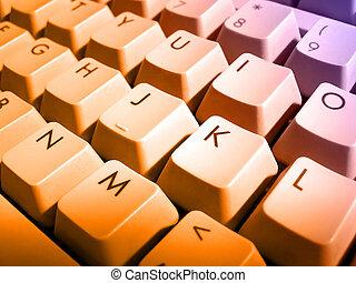 コンピュータキーボード