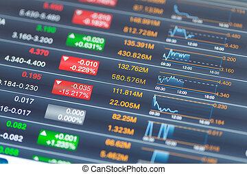 コンピュータデータ, 市場, タブレット, 株