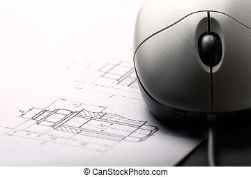 コンピュータマウス, 立案すること