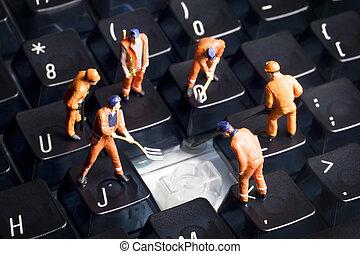 コンピュータ修理