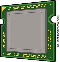 コンピュータ, プロセッサ, アイコン