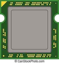コンピュータ, プロセッサ