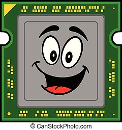 コンピュータ, プロセッサ, マスコット