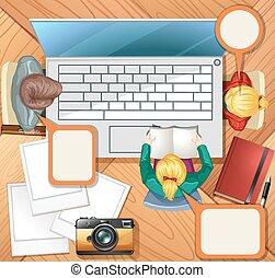 コンピュータ, 働いている人達