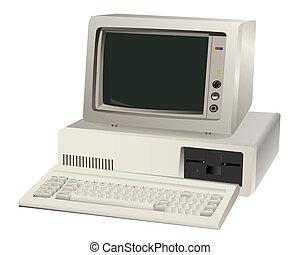コンピュータ, 古い, ユニット