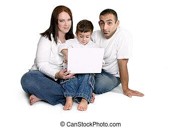 コンピュータ, 家族, 子供