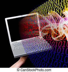 コンピュータ, 情報