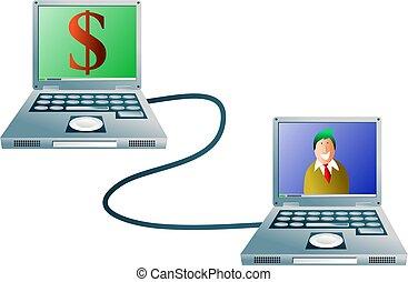 コンピュータ, 銀行業