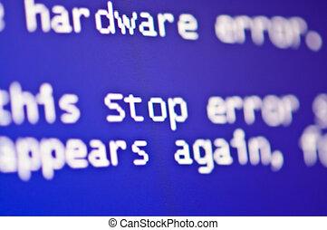 コンピュータ, 間違い