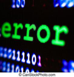 コンピュータ, error.