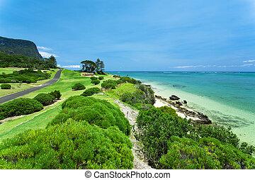 コース, ゴルフ, 海