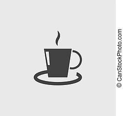 コーヒーカップ, アイコン