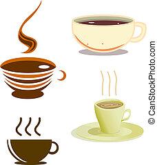 コーヒーカップ, パック