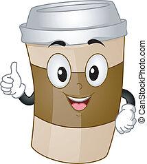 コーヒーカップ, マスコット