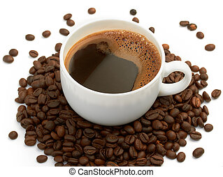 コーヒーカップ, 豆