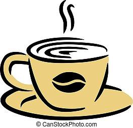 コーヒービーン, カップ