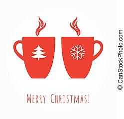 コーヒーマグ, クリスマス