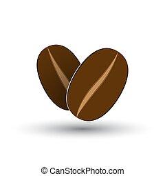 コーヒー豆, アイコン