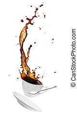 コーヒー, はね返し