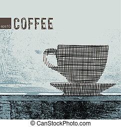 コーヒー, イラスト