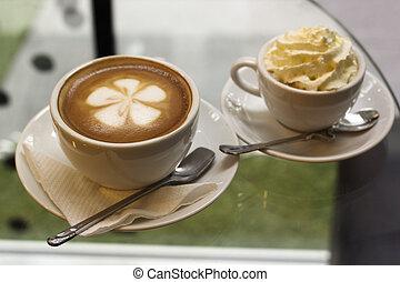 コーヒー, エスプレッソ, latte