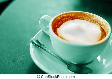 コーヒー, カプチーノ, カップ