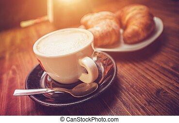 コーヒー, カプチーノ, 時間