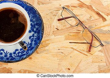 コーヒー, ガラス