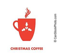 コーヒー, クリスマス, 大袈裟な表情をしなさい