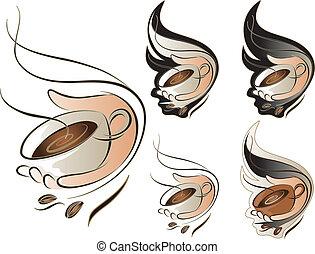 コーヒー セット, 印