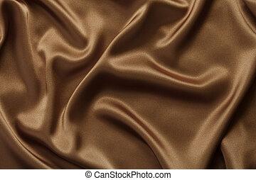コーヒー, チョコレート, 背景, 絹, サテン, ∥あるいは∥